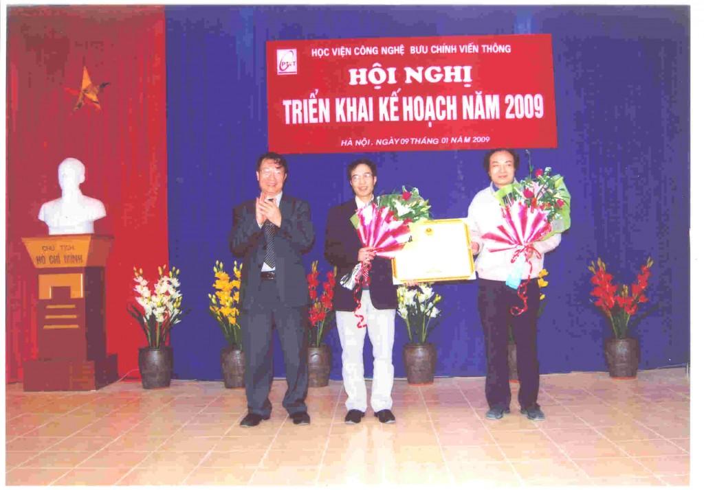 CDiT vinh dự đón nhận Bằng khen của Chính phủ về thành tích giai đoạn 2005-2007