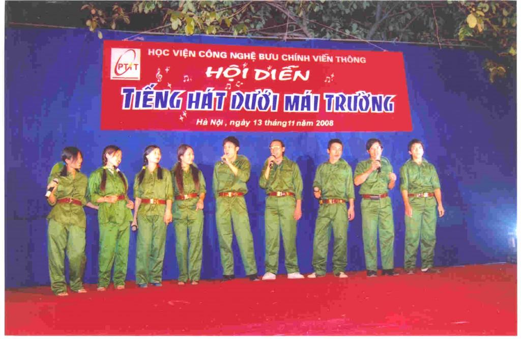 CDIT tham gia Ngày Hội Văn hóa Thể thao Học viện Công nghệ Bưu chính Viễn thông năm 2008