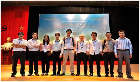 """Cuộc thi """"Sinh viên với An toàn thông tin"""" năm 2013."""