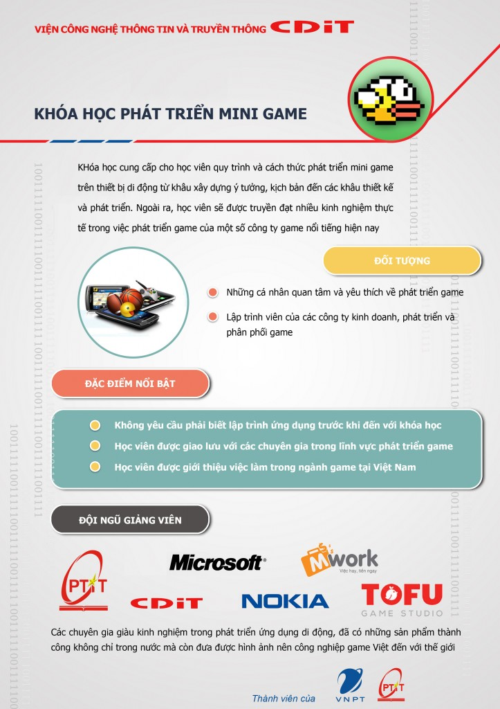 Khóa học lập trình game mobile