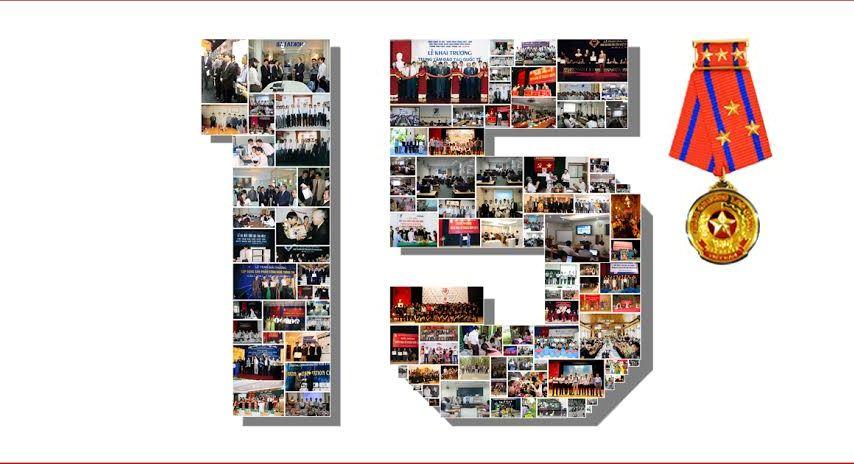 Thư mời về dự lễ kỷ niệm 15 năm ngày thành lập CDIT