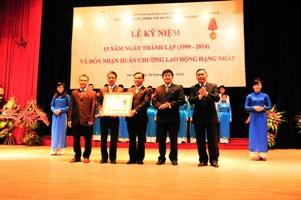 Lễ kỷ niệm 15 năm ngày thành lập và đón nhận Huân chương Lao động hạng Nhất của Viện CNTT và Truyền thông CDIT