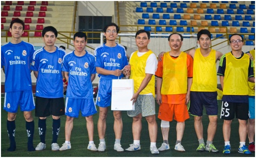 CDIT gặp gỡ và giao lưu bóng đá với đối tác doanh nghiệp trong lĩnh vực Thương mại điện tử
