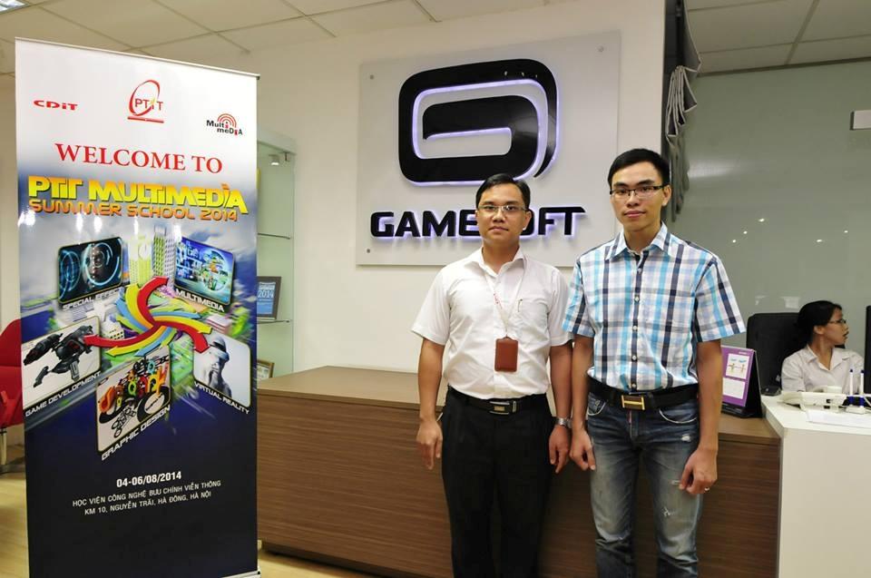 """Cơ hội tham gia hội thảo và chương trình đào tạo thực tế miễn phí tại """"CDIT- GameLoft Tour"""""""