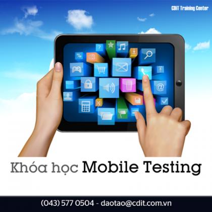 Khóa học Mobile Testing