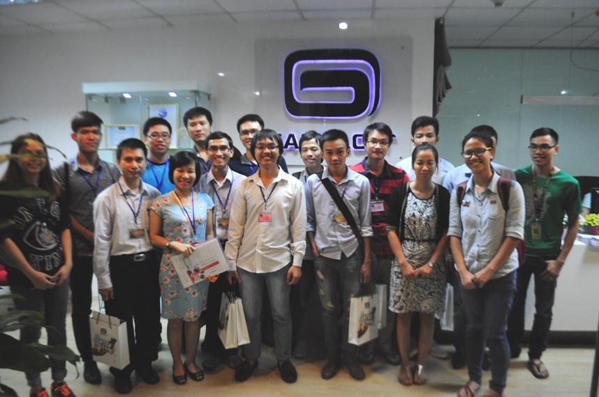 Học viên của CDIT hào hứng thử sức với bài kiểm tra đầu vào tại công ty Gameloft