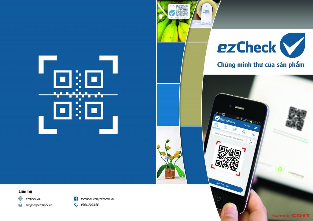 ezCheck – Giải pháp xác thực nguồn gốc sản phẩm bằng tem điện tử