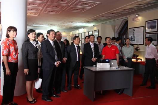 Triển khai giải pháp triển lãm số, CDIT tham gia hỗ trợ công tác tuyên truyền về chủ quyền biển, đảo Việt Nam