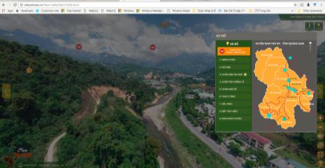Ứng dụng công nghệ ảnh 360 độ và 3D scanning vào quảng bá Sâm Ngọc Linh và du lịch tại huyện Nam Trà My
