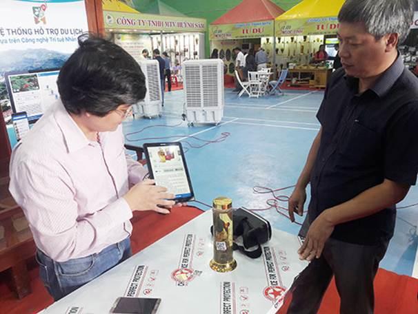 """UBND huyện Nam Trà My khai trương """"Hệ thống hỗ trợ du lịch dựa trên công nghệ trí tuệ nhân tạo"""" do CDIT cung cấp"""