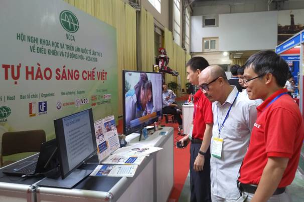 """CDIT tham gia gian hàng """"Tự hào sáng chế Việt"""" tại VCCA 2019"""