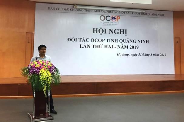 CDIT tham gia giới thiệu giải pháp ezCheck tại Hội nghị đối tác OCOP tỉnh Quảng Ninh lần thứ 2 năm 2019
