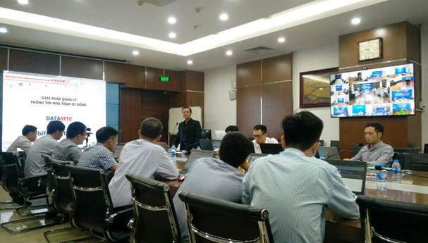 CDIT triển khai giải pháp quản lý thông tin nhà trạm di động cho Mobifone trên toàn quốc