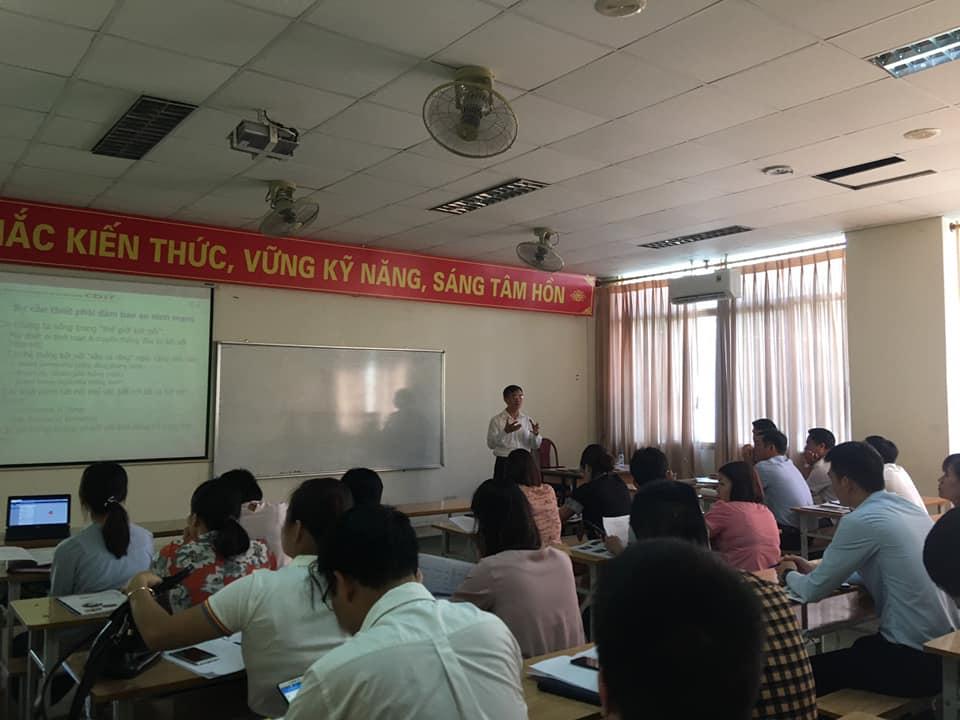 Khai giảng khóa đào tạo chuyên sâu về ứng dụng Công nghệ thông tin và An toàn thông tin mạng tại Thái Bình