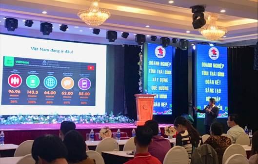 CDIT triển khai khóa đào tạo Nâng cao năng lực chuyển đổi số và giới thiệu các giải pháp số với cộng đồng doanh nghiệp Thái Bình